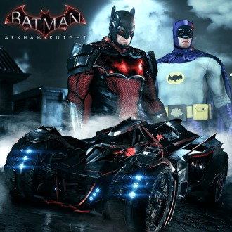 Batman: Arkham Knight Exklusives Skin-Paket für PlayStation®4 PS4