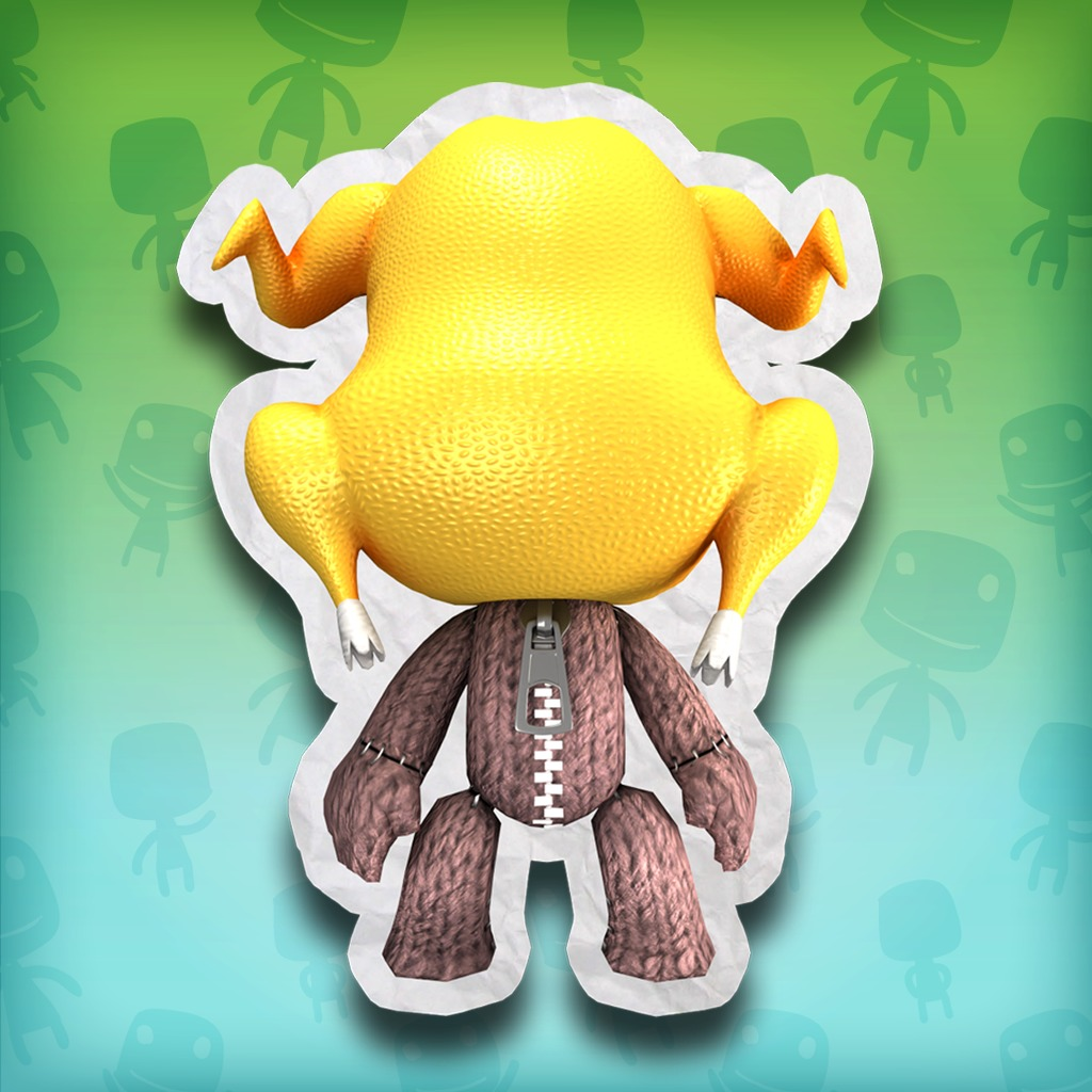 LittleBigPlanet™ Turkey Head Kostüm