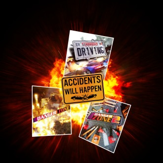 Accidents will Happen - Dangerous Driving Crash Mode Bundle PS4