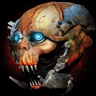 X-Morph Defense Angry Skull Avatar PS4