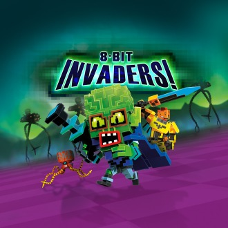 8-Bit Invaders! PS4