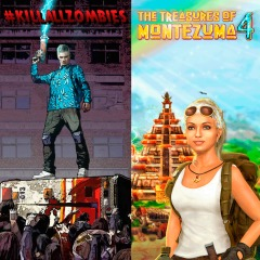 The Treasures of Montezuma 4 & KILLALLZOMBIES