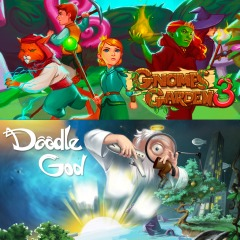 Gnomes Garden 3 : The thief of castles & Doodle God