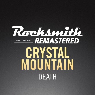 Rocksmith® 2014 – Crystal Mountain - Death PS4 / PS3