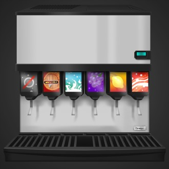 Cook, Serve, Delicious! 2!! Soda Machine Avatar PS4