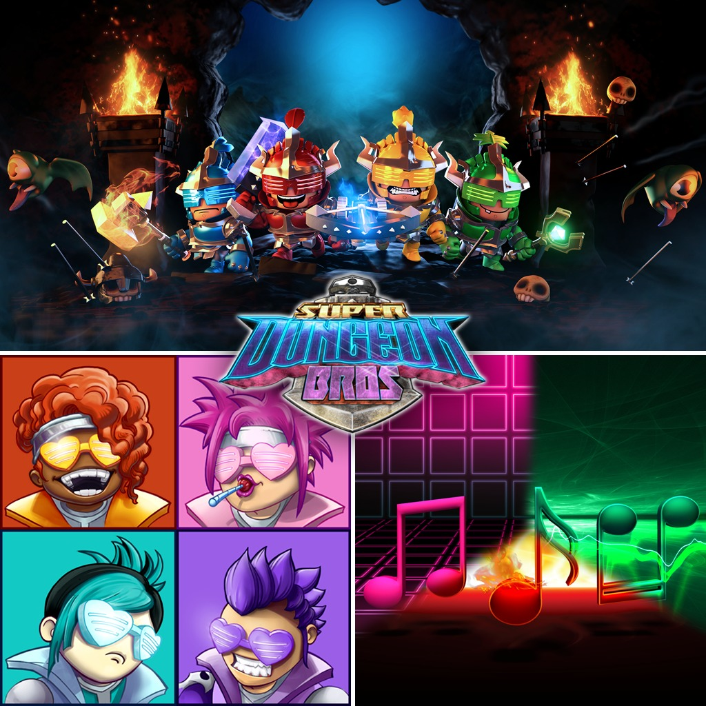 MÉGA pack Super Dungeon Bros