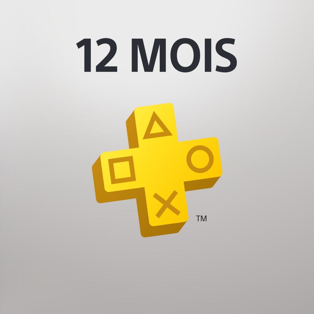 PlayStation® Plus : abonnement de 12 mois