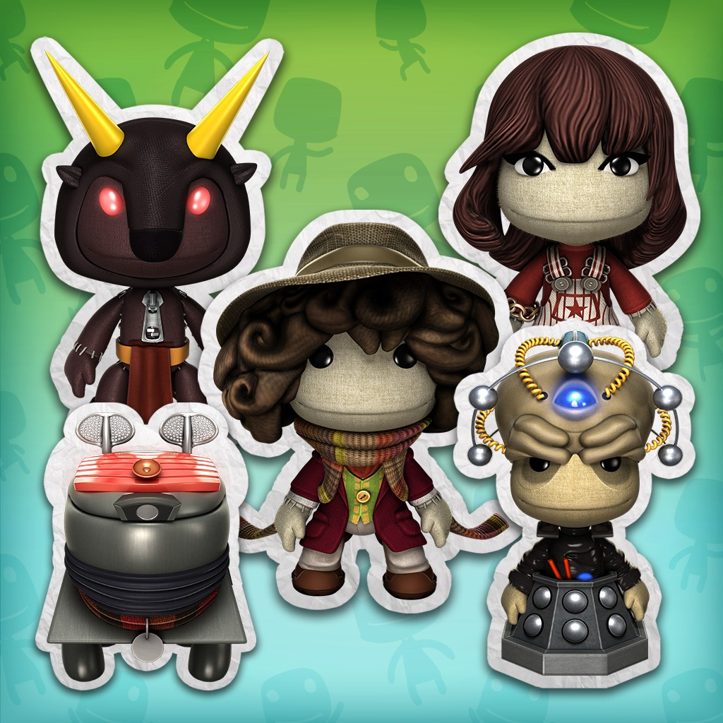 LBP™3 Doctor Who – Fourth Doctor Costume Pack