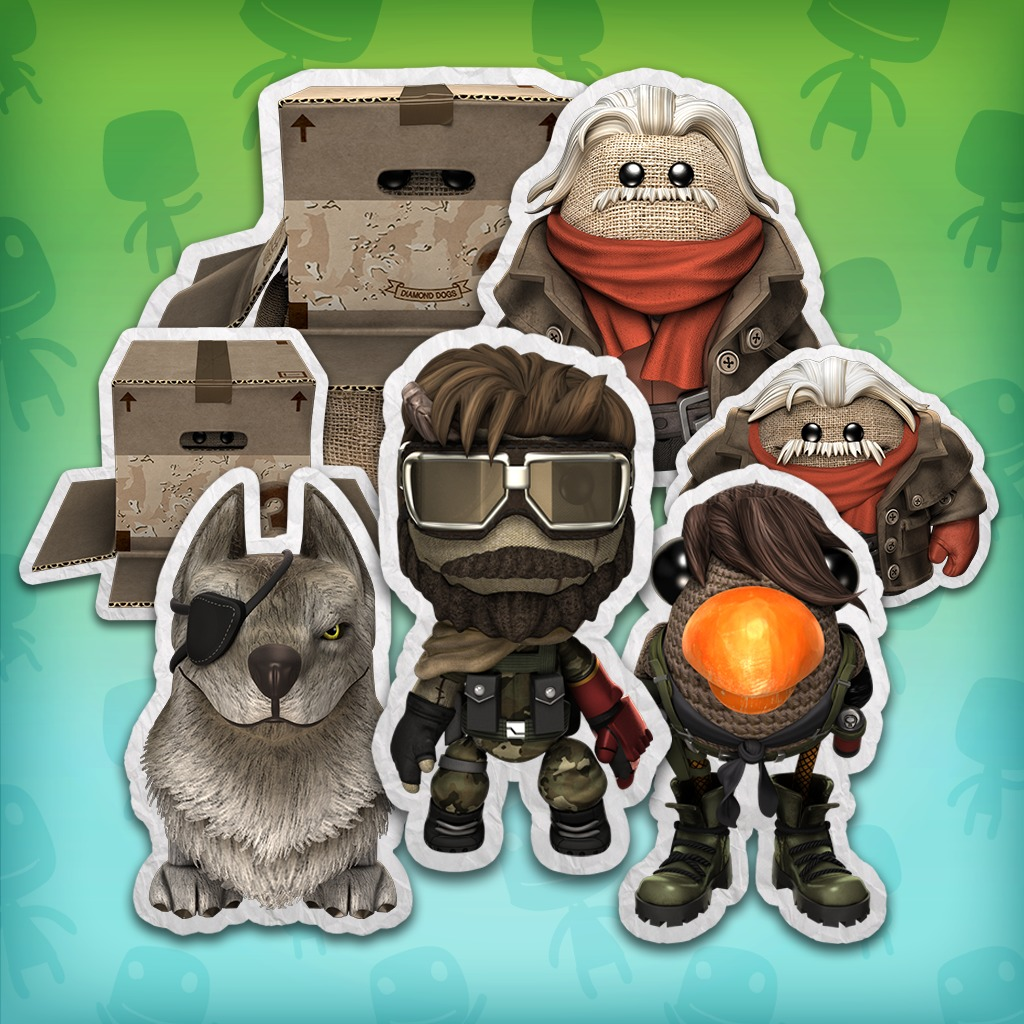 LittleBigPlanet™ 3 MGS V: The Phantom Pain Costume Pack