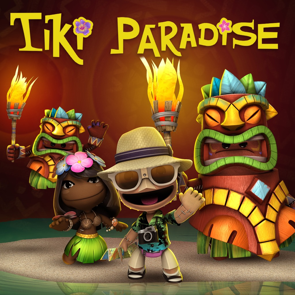 LittleBigPlanet™ 3 Tiki Paradise Level Kit