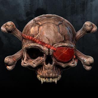 X-Morph Pirate Skull Avatar PS3