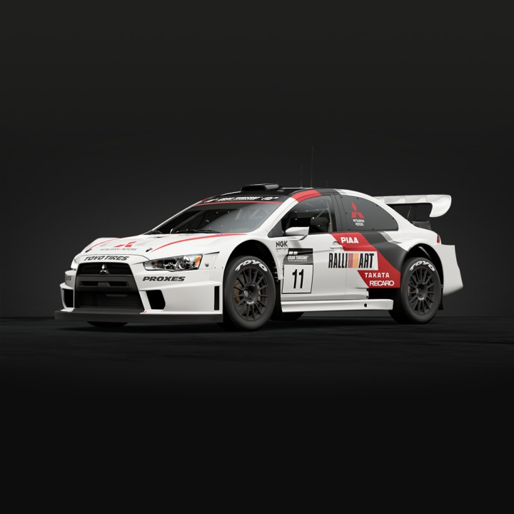 Mitsubishi Lancer Evolution Final Edition Gr B Rally Car