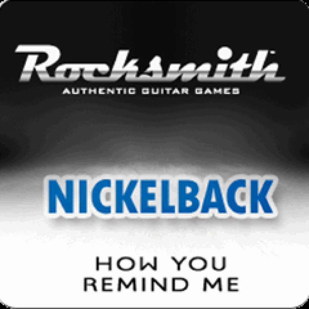 Rocksmith™ Nickelback - How You Remind Me