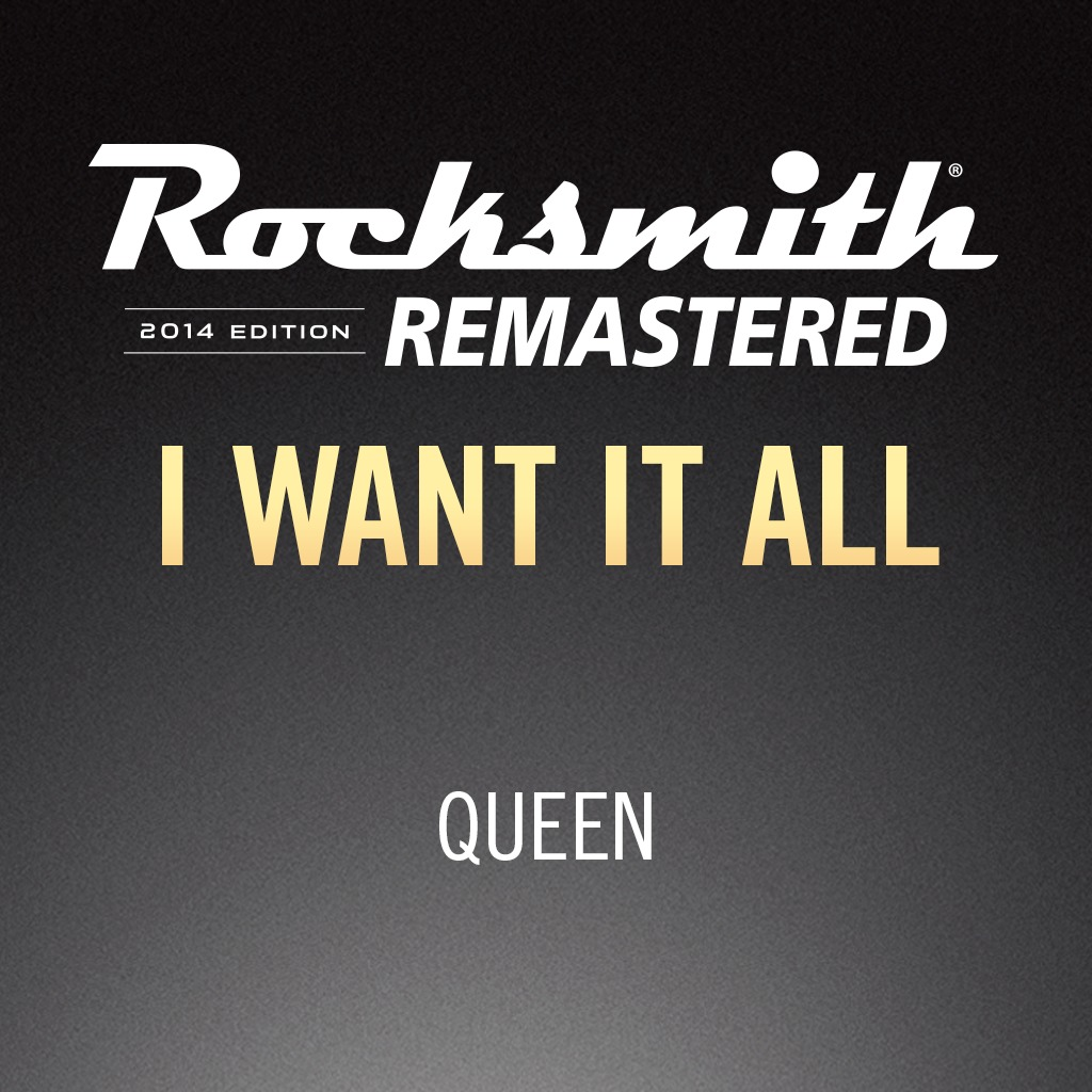 Rocksmith® 2014 – I Want It All - Queen