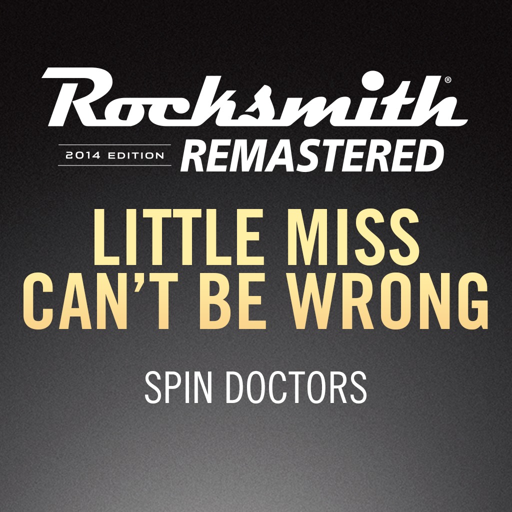 Rocksmith® 2014 – Little Miss Can't Be Wrong - Spin Doctors