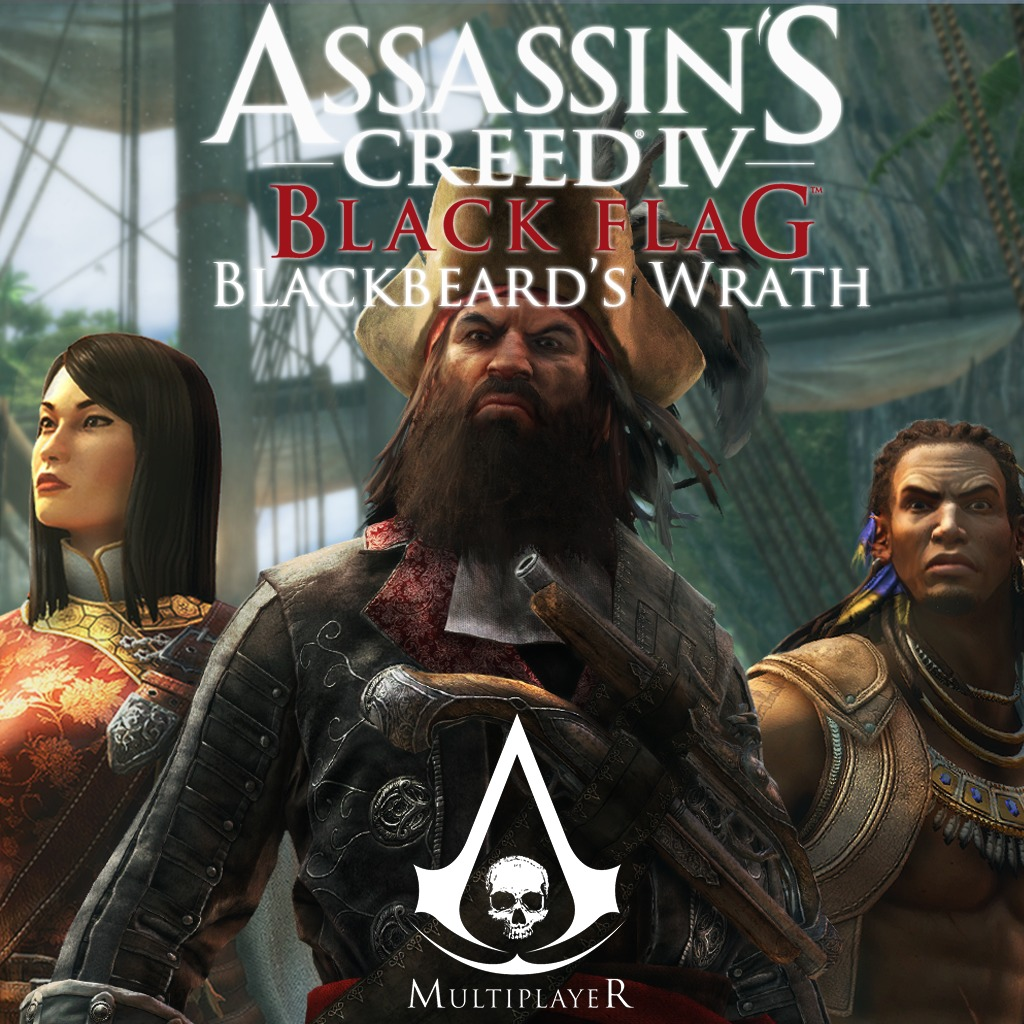 AC4BF MP Characters Pack 1 Blackbeard's Wrath