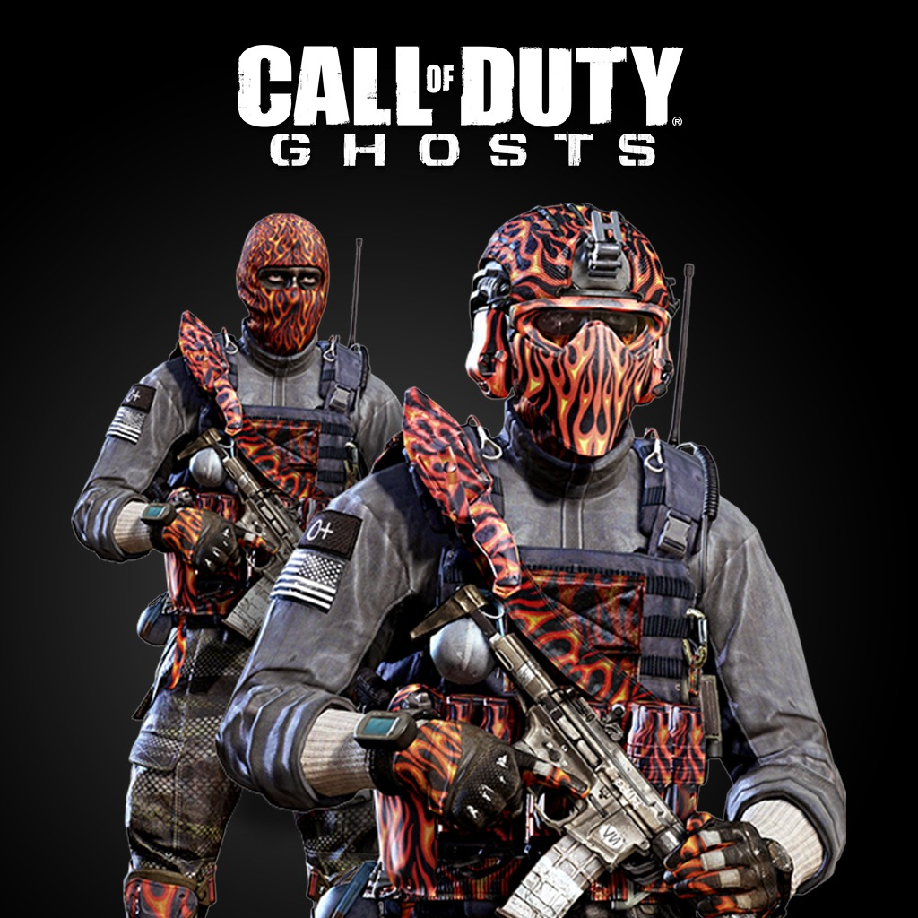 Call of Duty®: Ghosts - Inferno Character Pack [R/P]