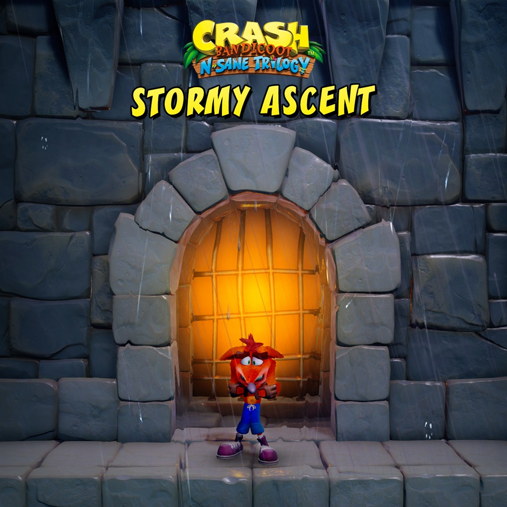 Crash Bandicoot™ N. Sane Trilogy - Stormy Ascent Level