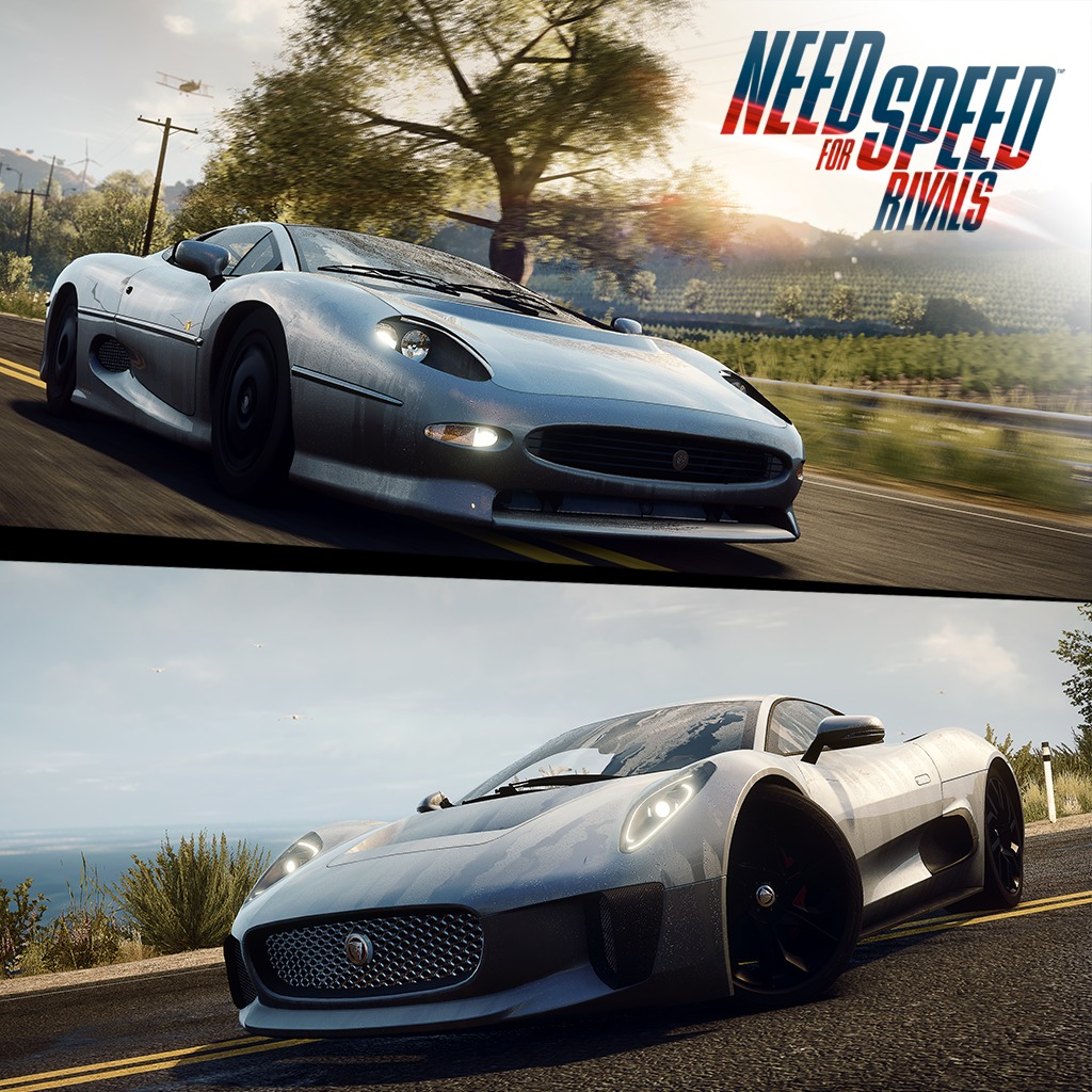 NFS Rivals Simply Jaguar Racers