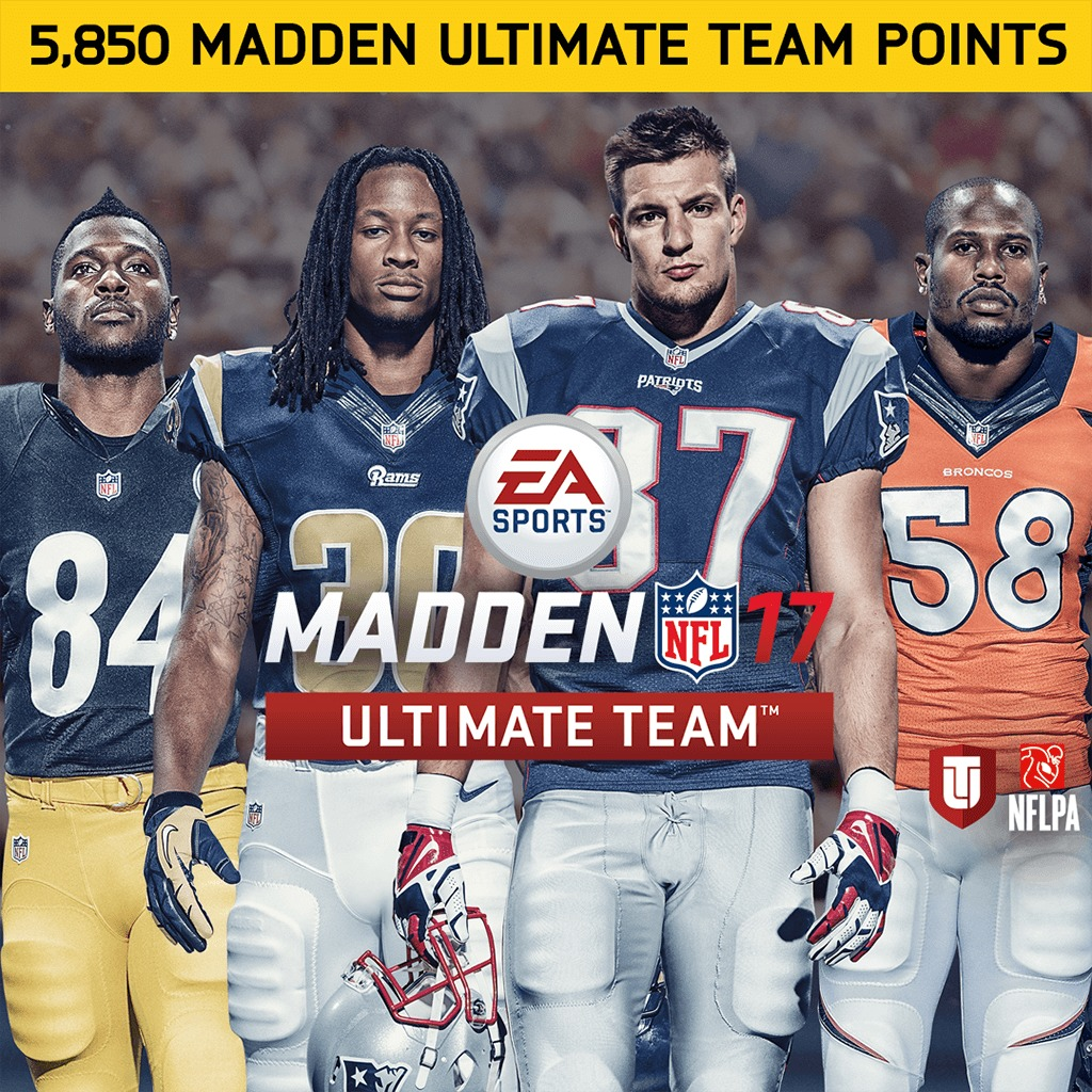 5850 Madden NFL 17 Points