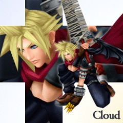 Cloud Alt 3: KINGDOM HEARTS Gear [PSP]