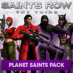 Saints Row: The Third Planet Saints Pack