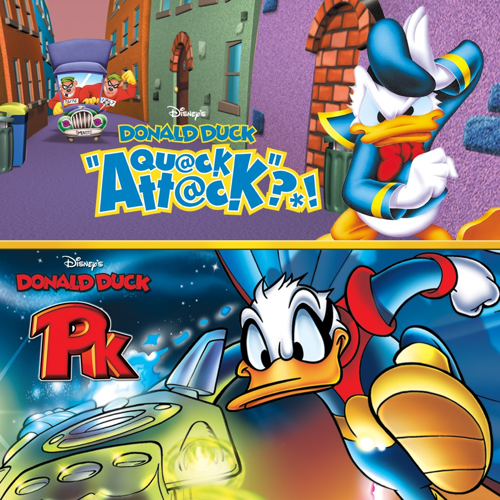 Disney's Donald Duck PS2™ Double Pack