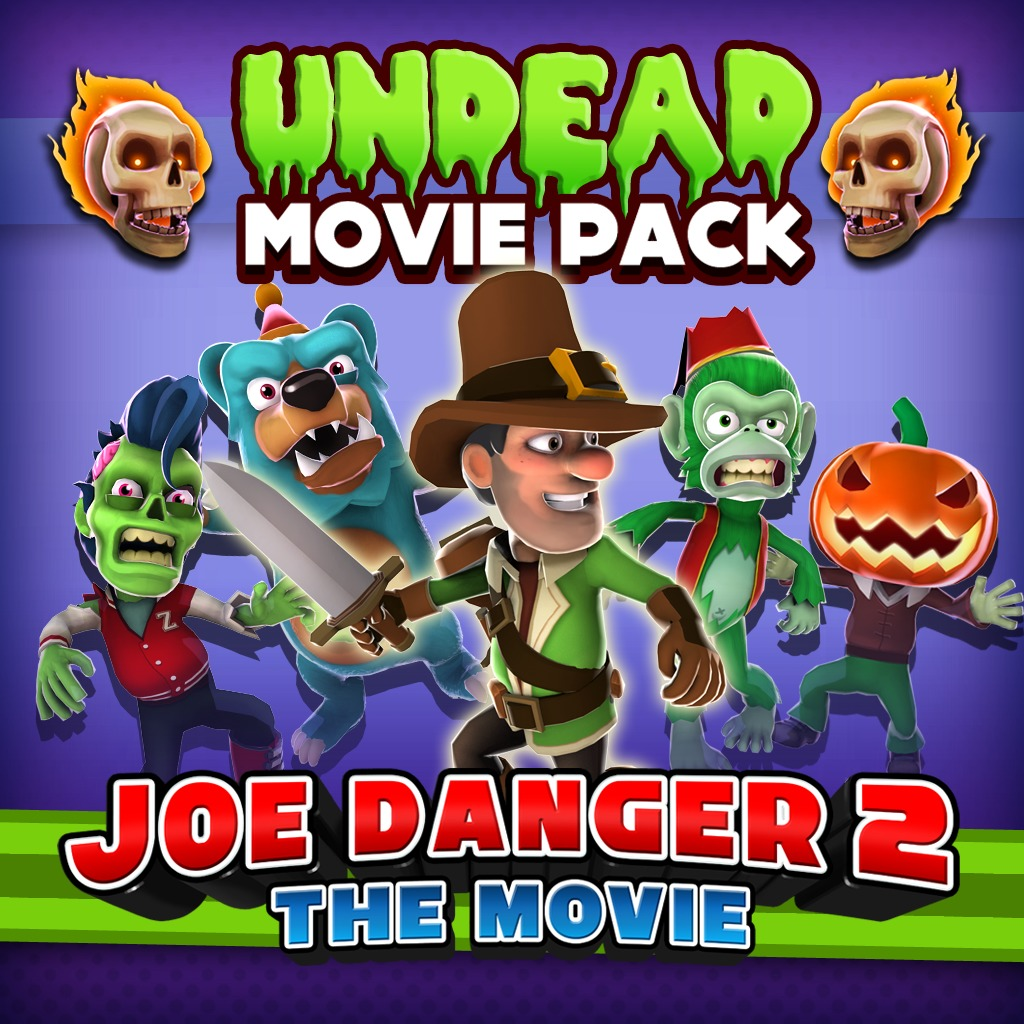 Joe Danger 2: The Movie - Undead Movie Pack