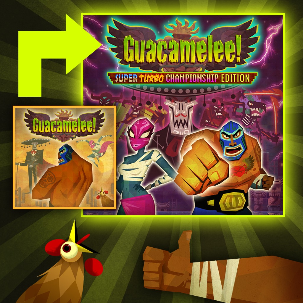 Guacamelee! Super Turbo Championship Edition - PS4™ Upgrade