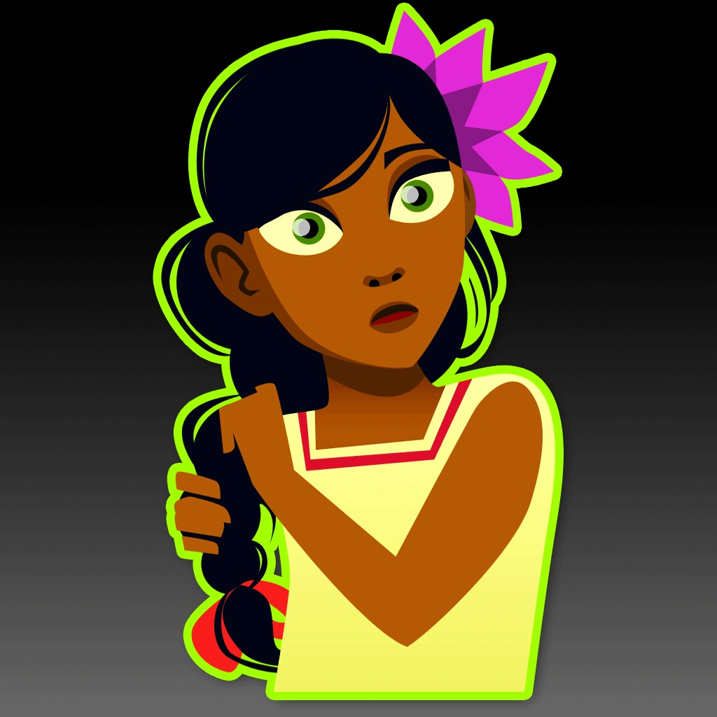 Guacamelee! Child El Presidente's Daughter Avatar