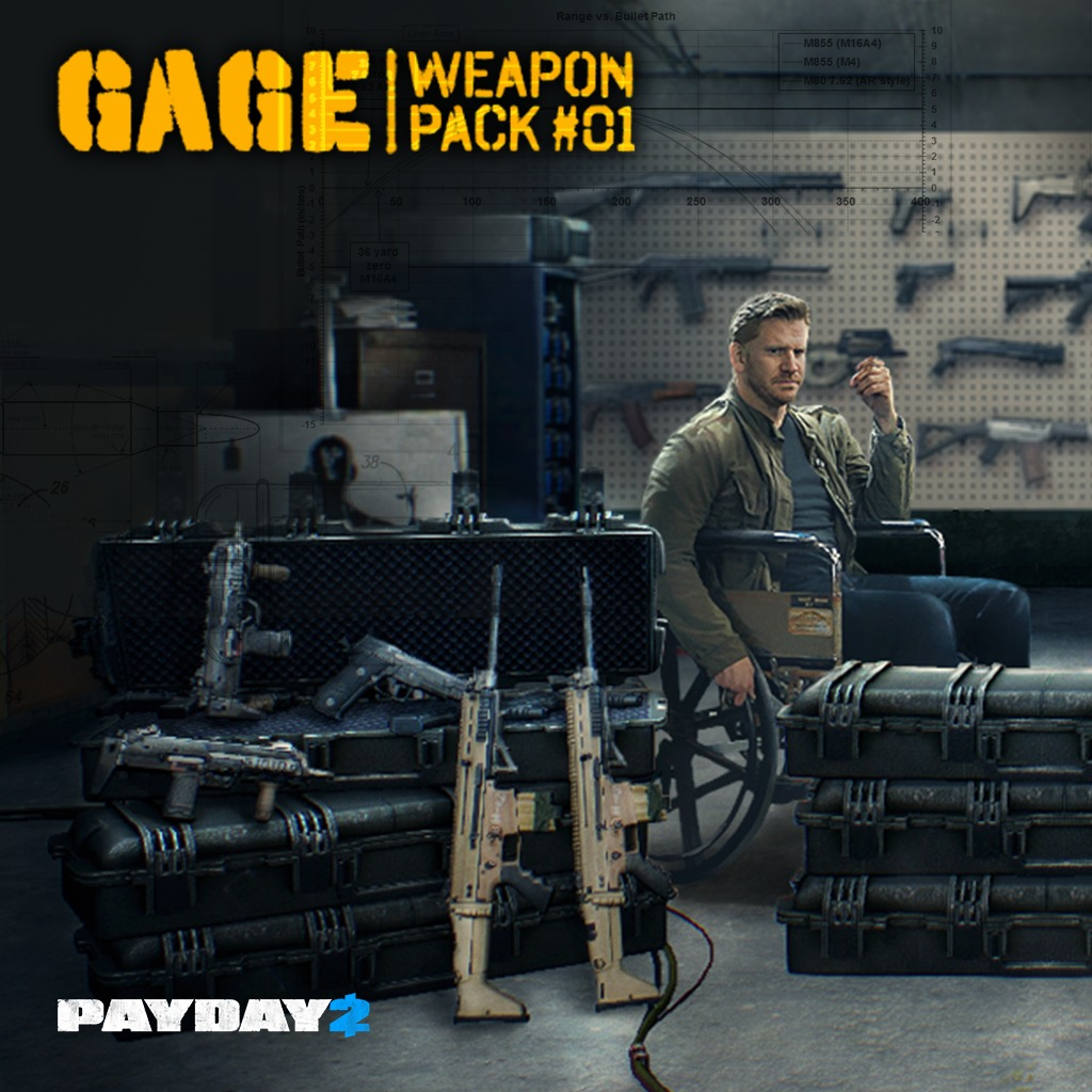 PAYDAY™ 2 Gage pack 1
