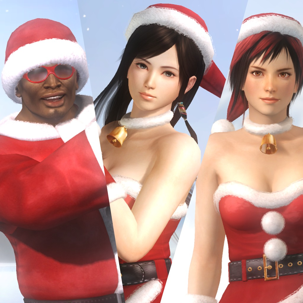 Dead or Alive 5 Christmas Set 2