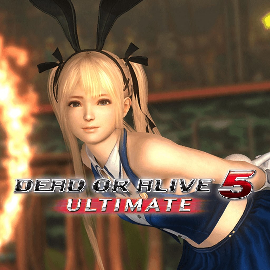 Dead or Alive 5 Ultimate Sexy Bunny Marie Rose