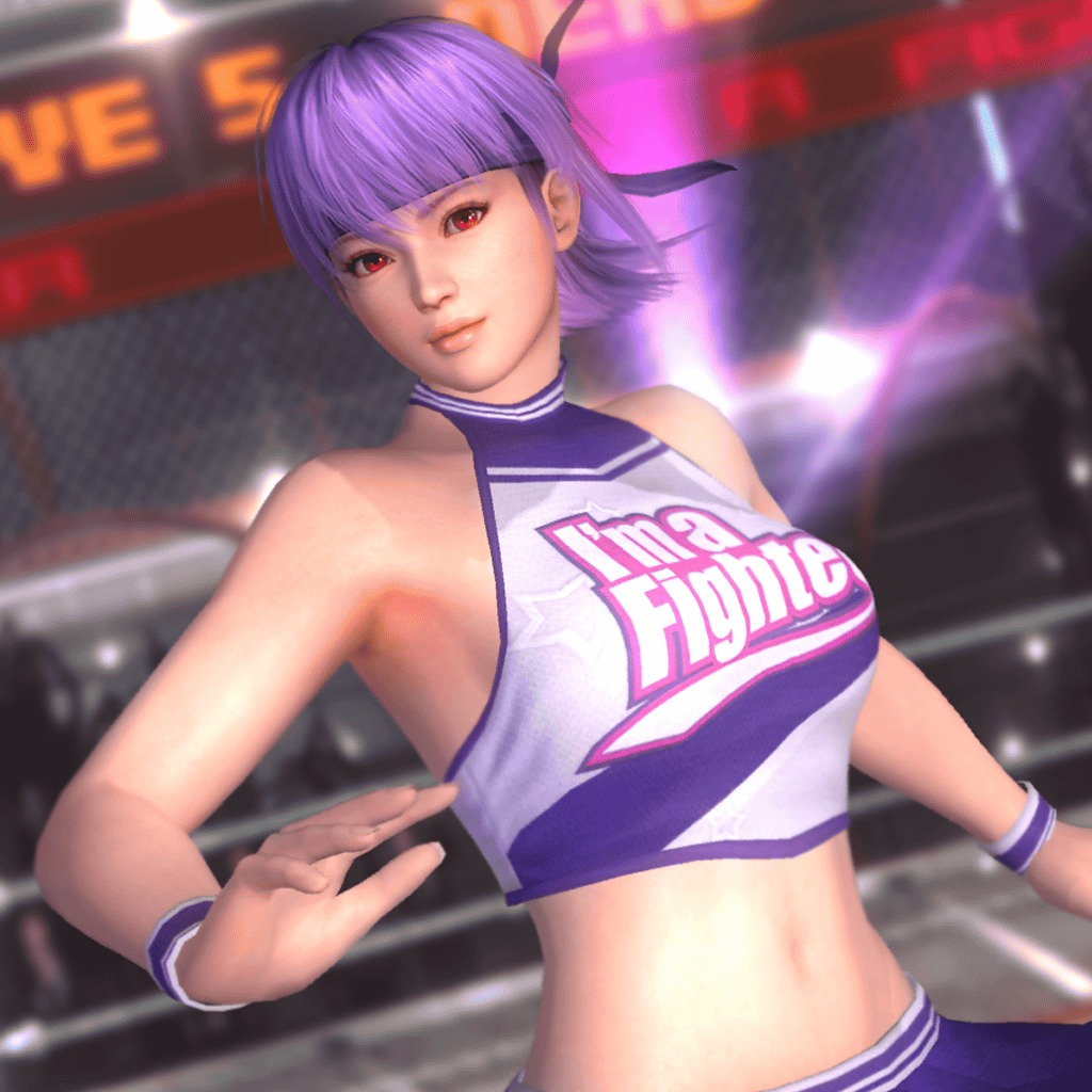 Dead or Alive 5 Plus - Cheerleader Ayane