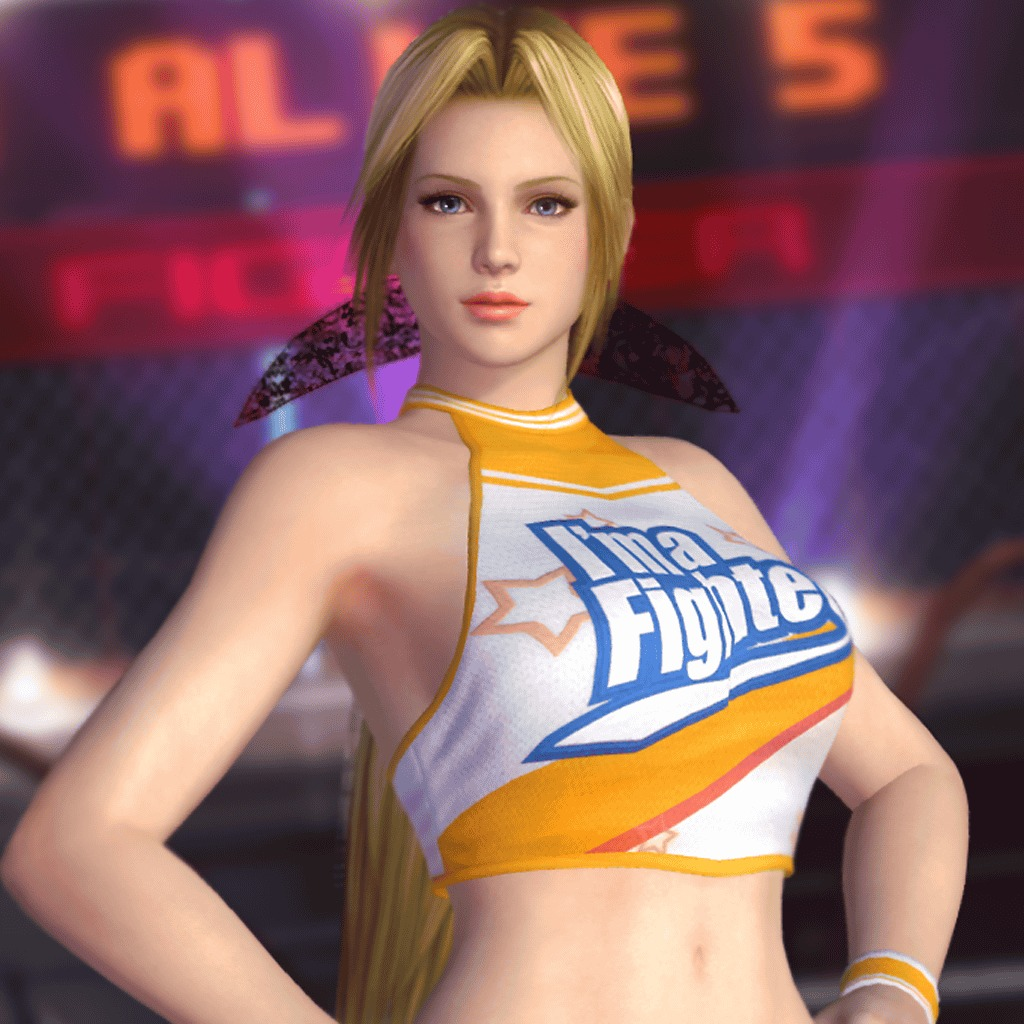Dead or Alive 5 Plus - Cheerleader Helena