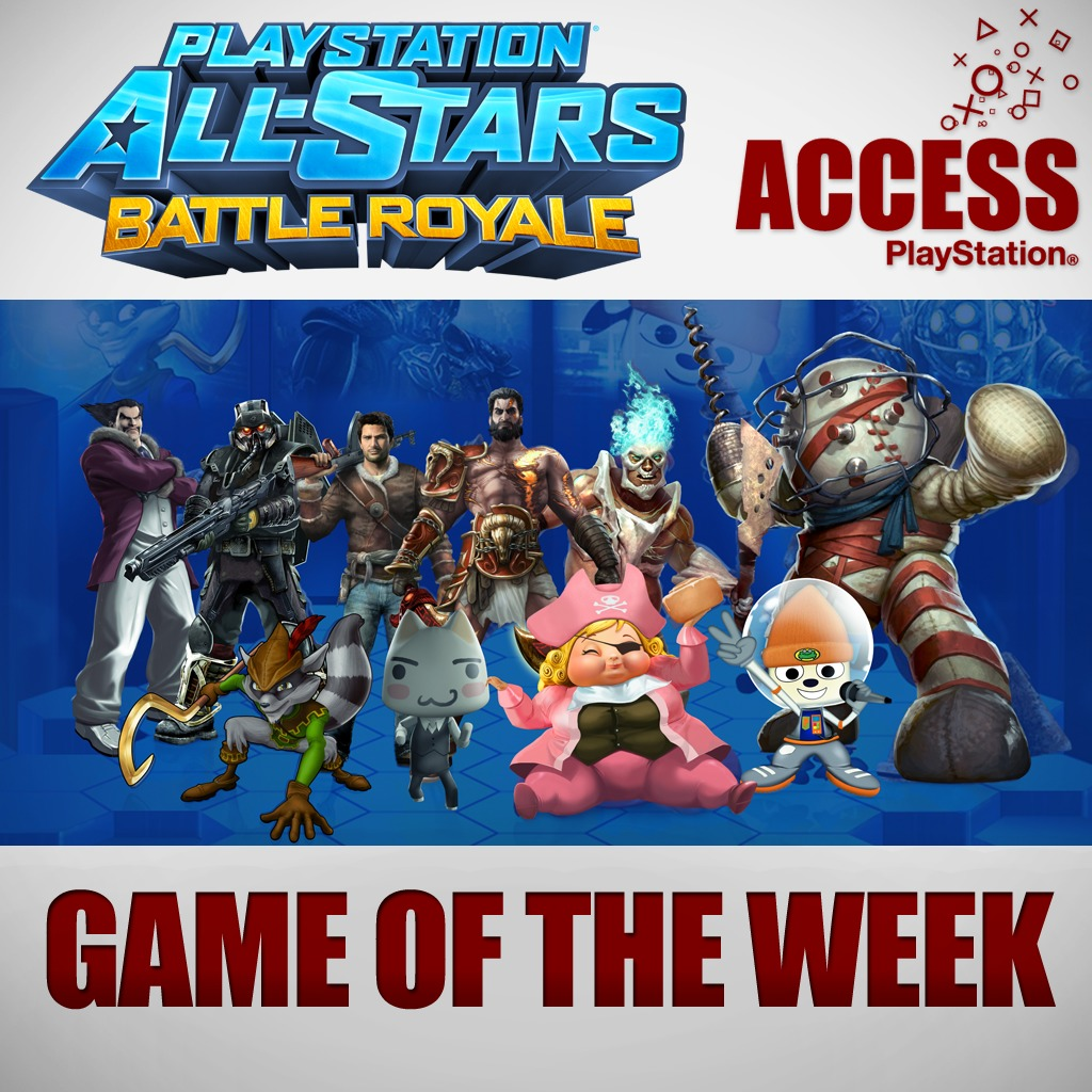 PlayStation®All-Stars Battle Royale – Access Game of the Week