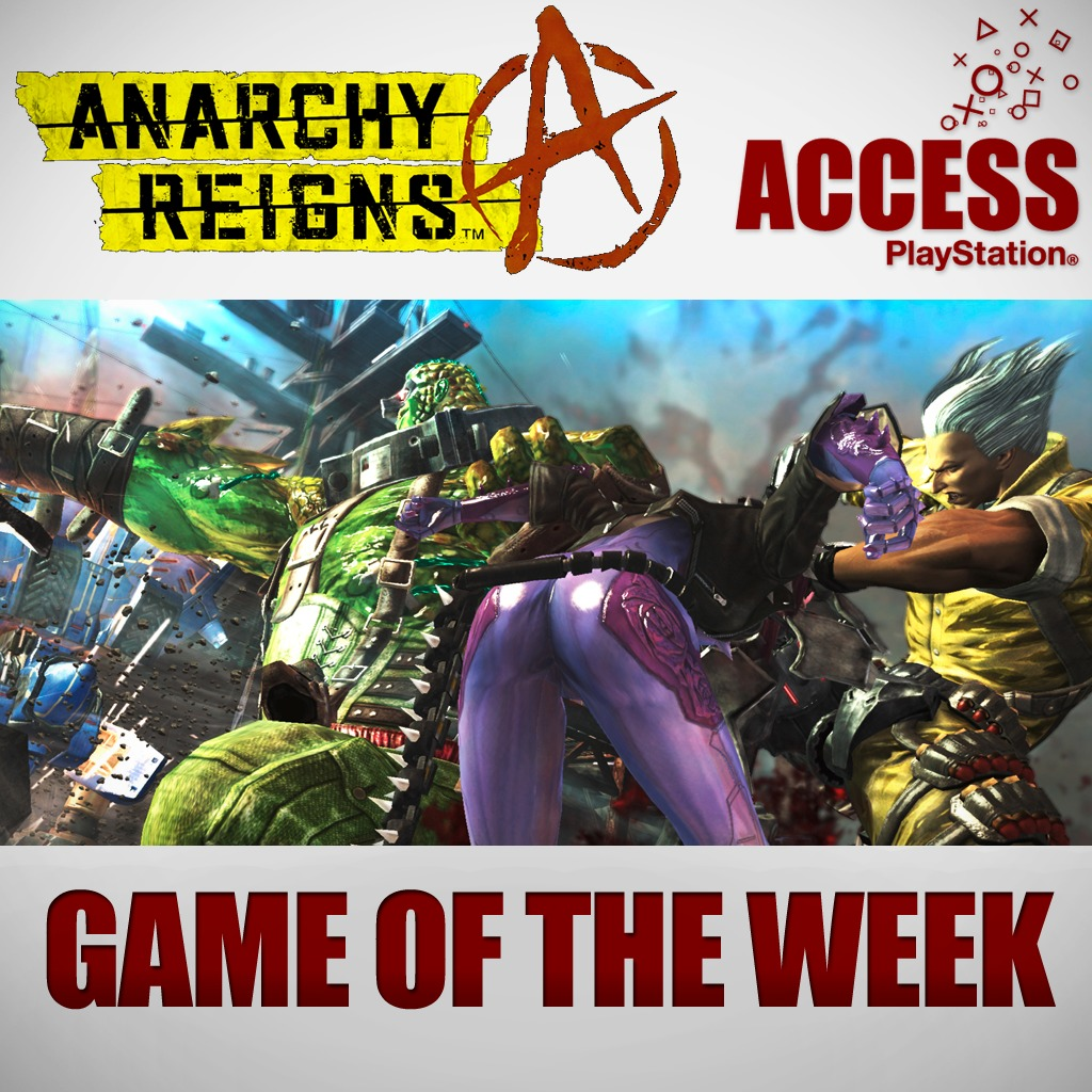 Anarchy Reigns – Access Game of the Week