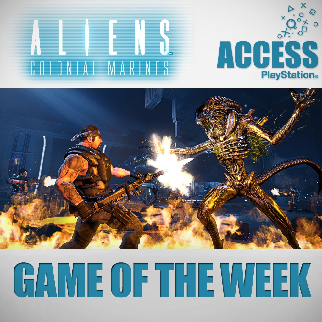 Aliens Colonial Marines – Access Game of the Week