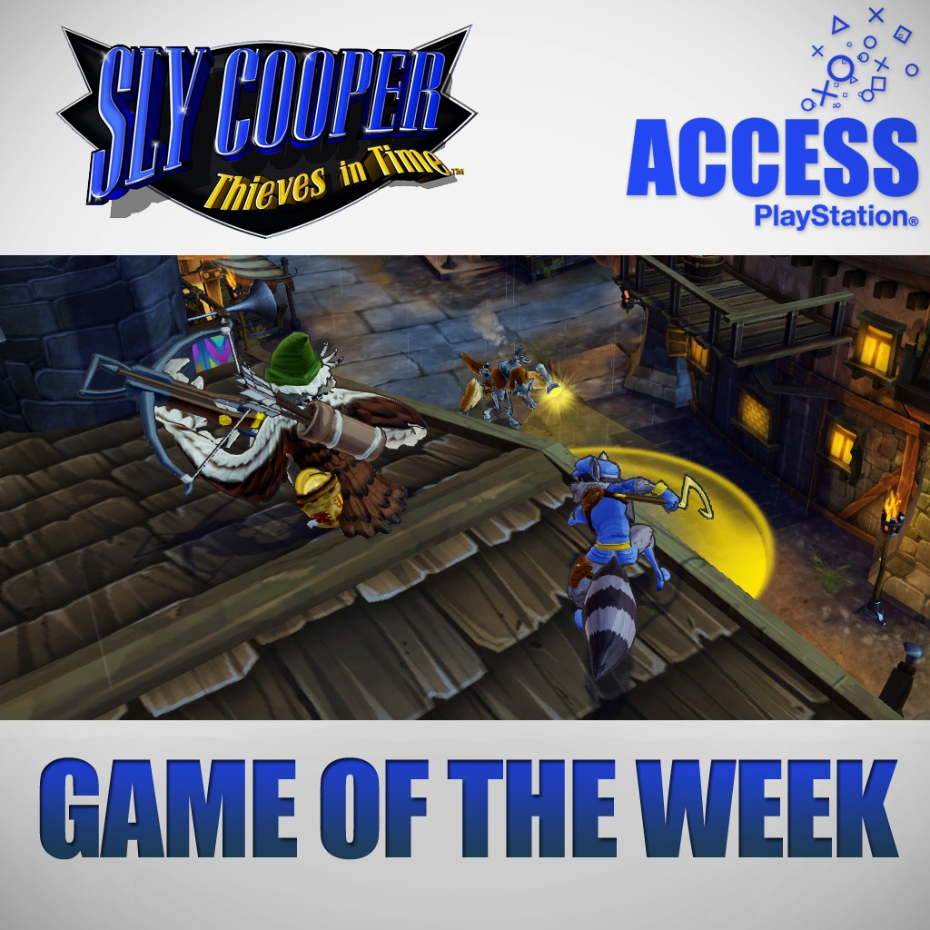 Sly Cooper: Thieves in Time - Access Game of the Week