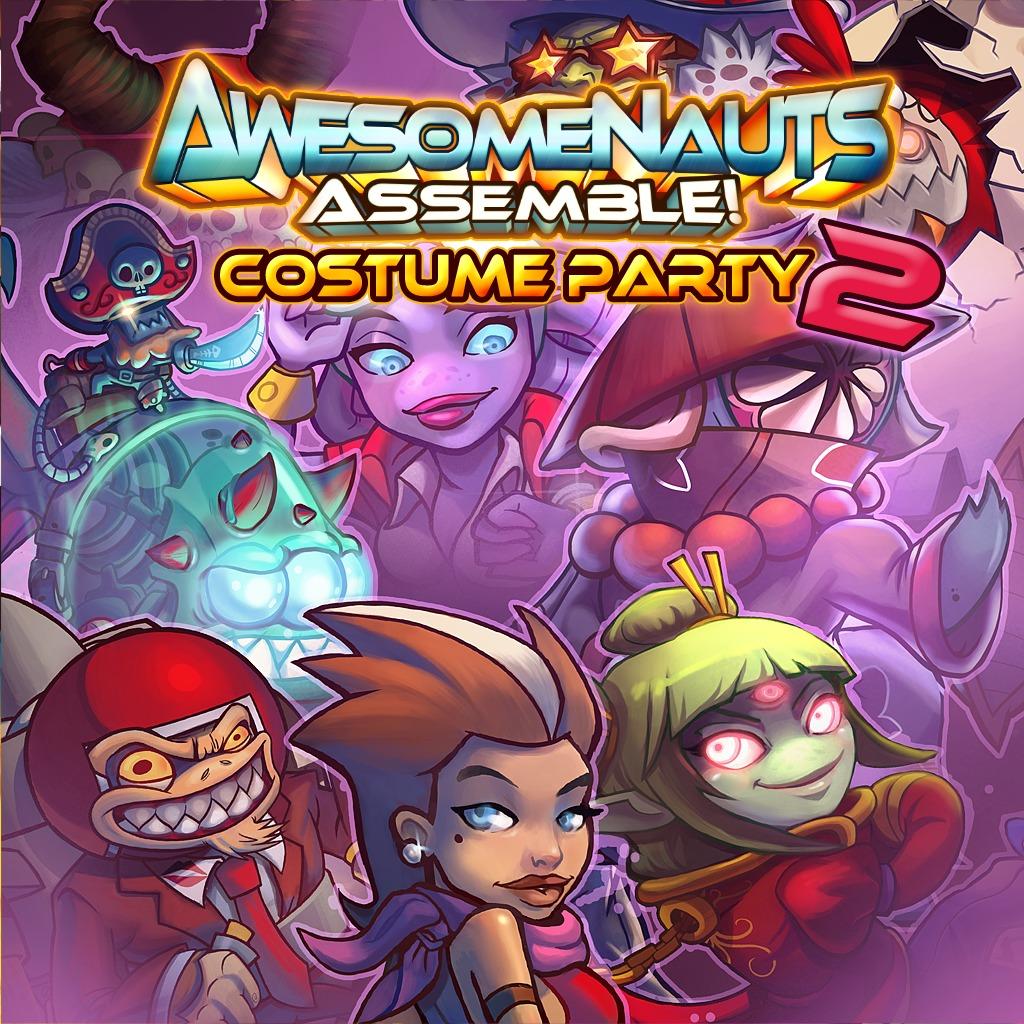 Awesomenauts Assemble! - Costume Party 2 Skin Bundle