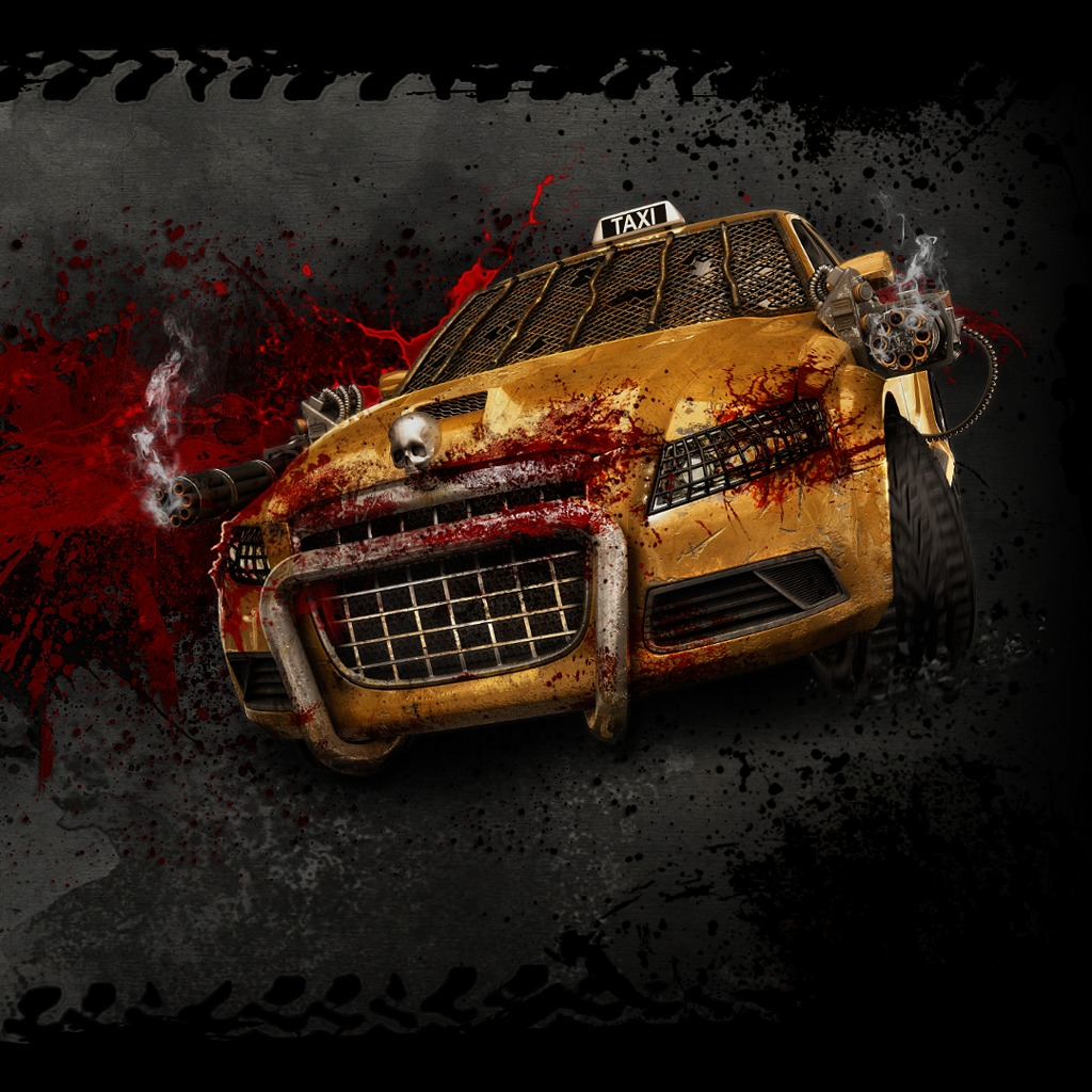 Zombie Driver HD Wallpaper - Taxi Front