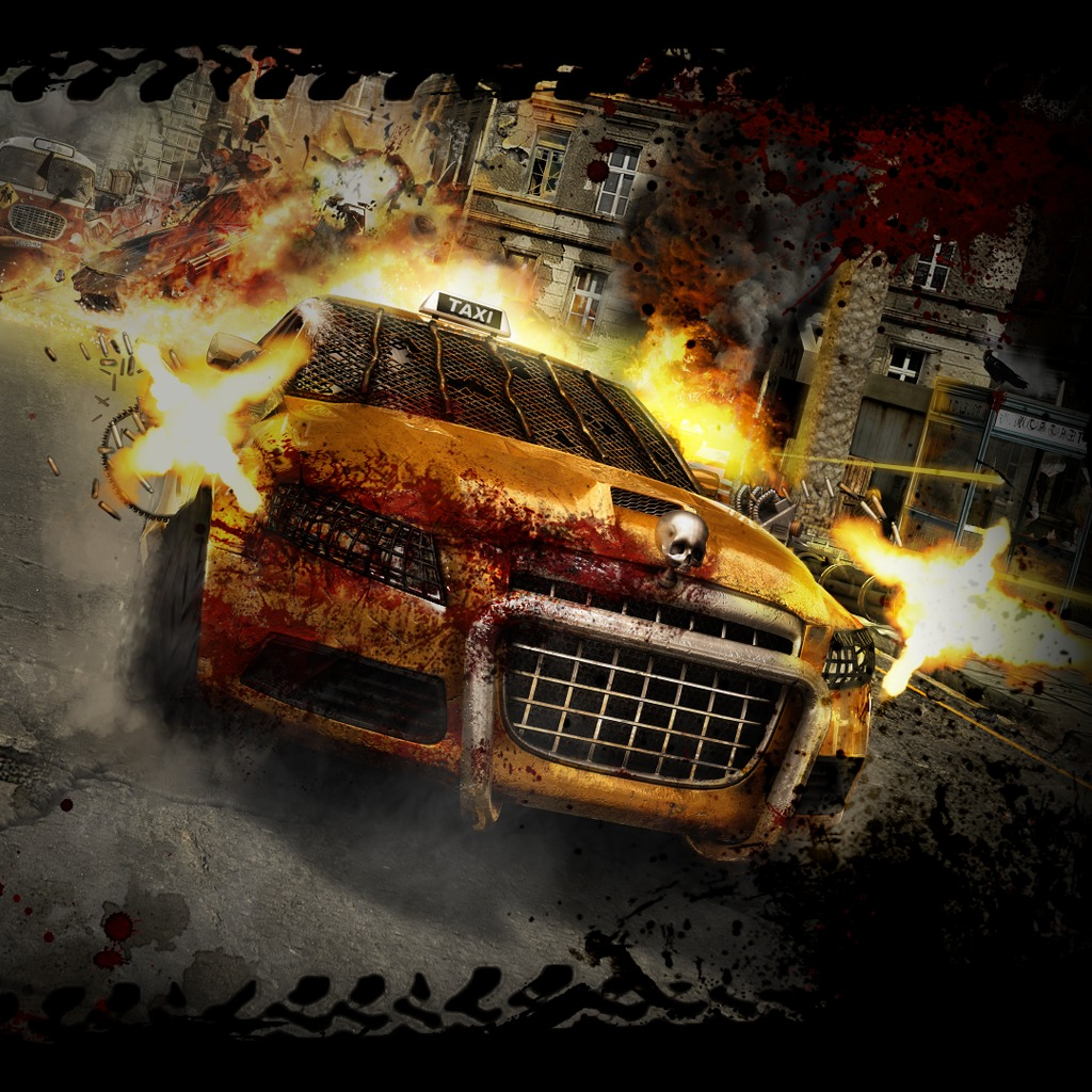 Zombie Driver HD Wallpaper - Taxi Action
