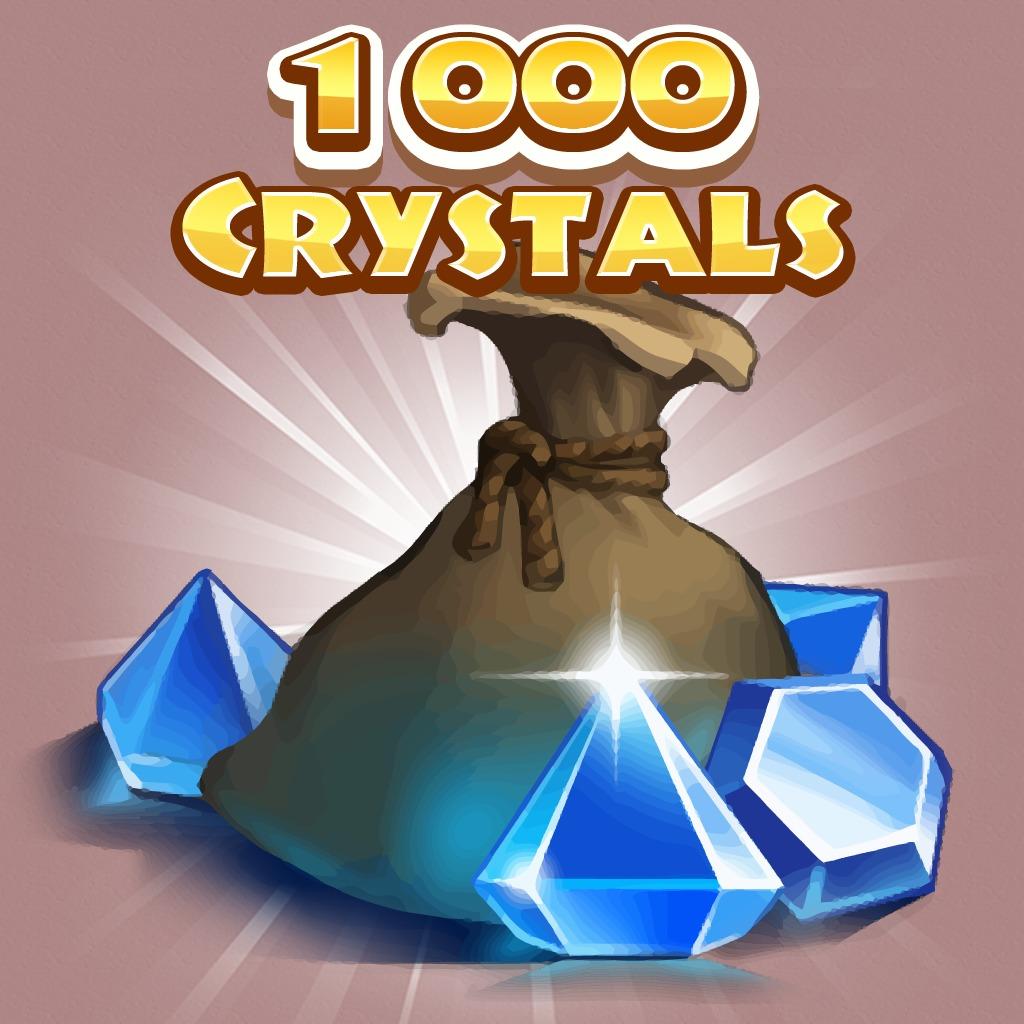 1000 crystals