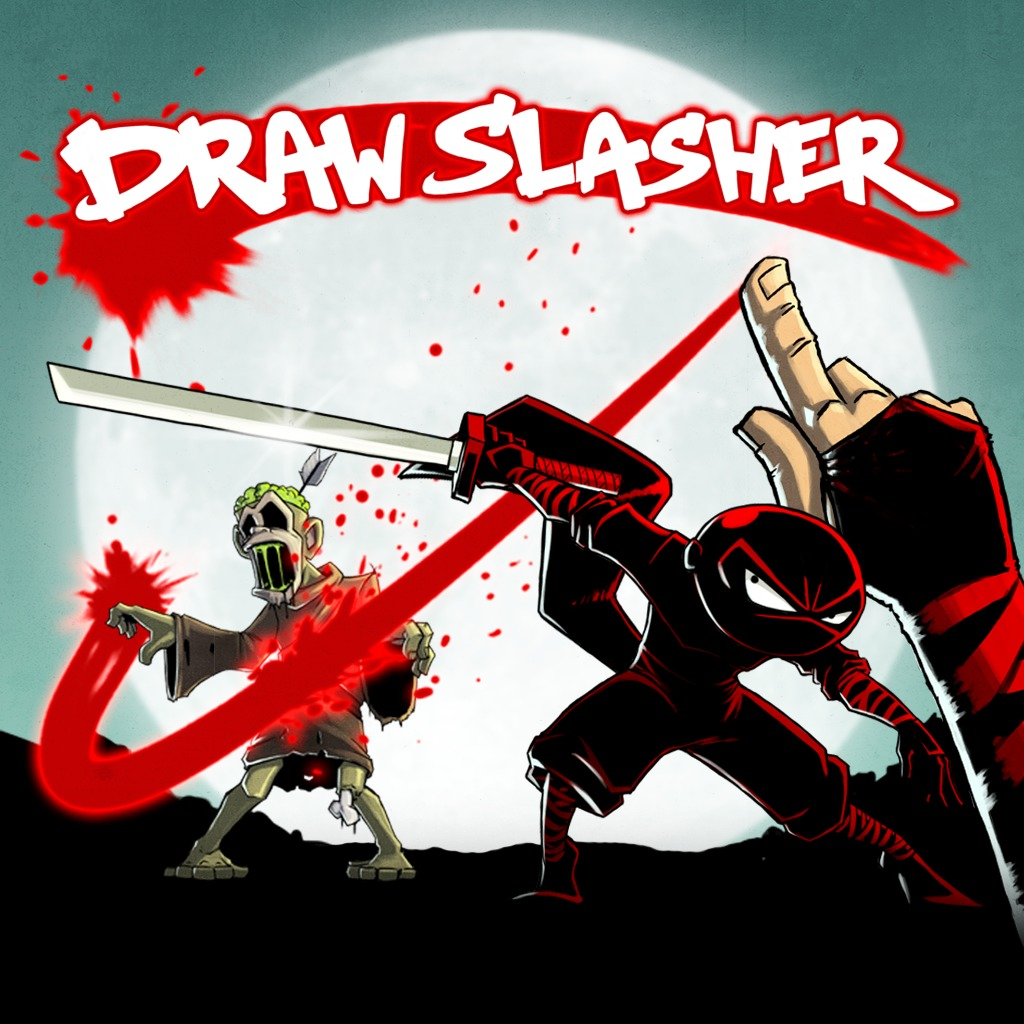 Draw Slasher - Twirl Wallpaper