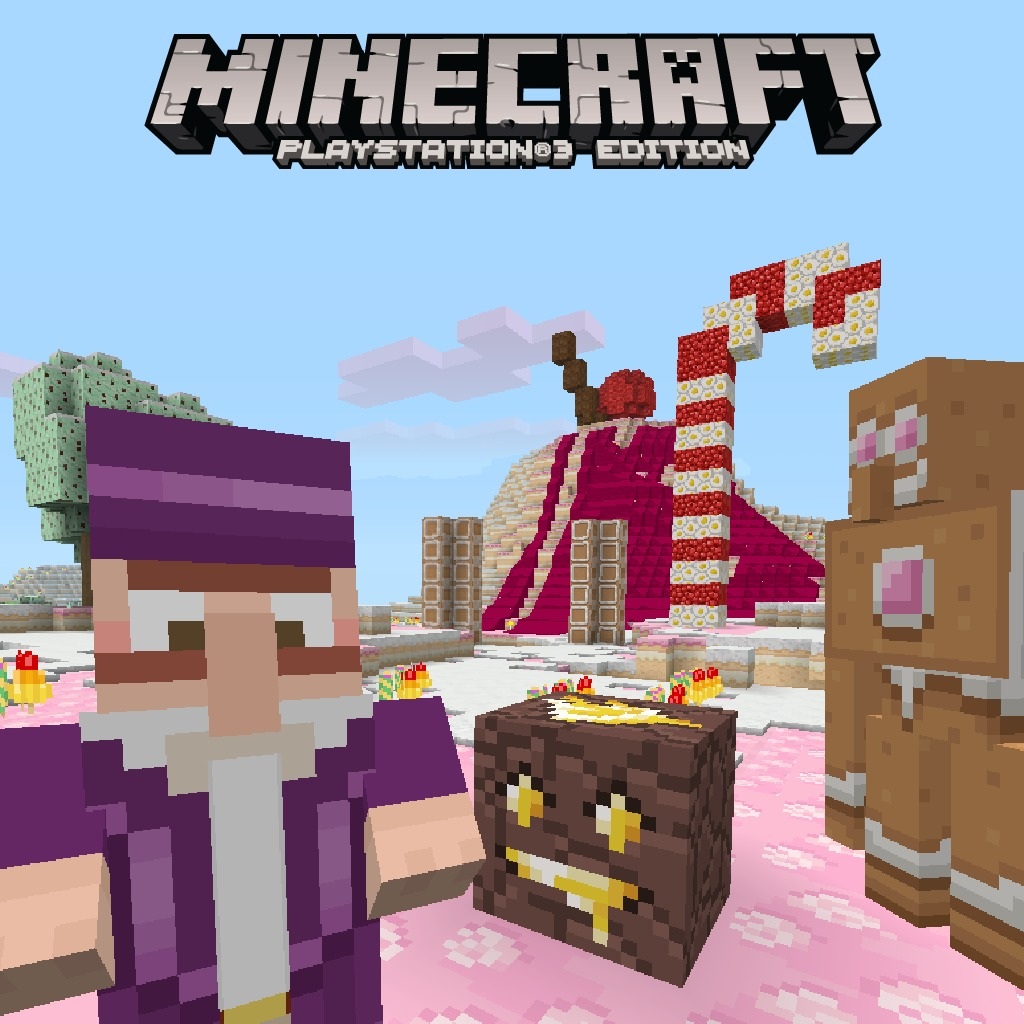 Minecraft Candy Texture Pack