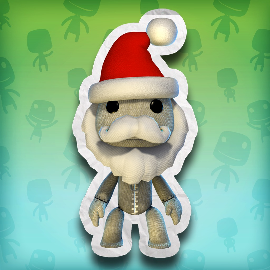 LittleBigPlanet™ Santa Hat and Beard Costume