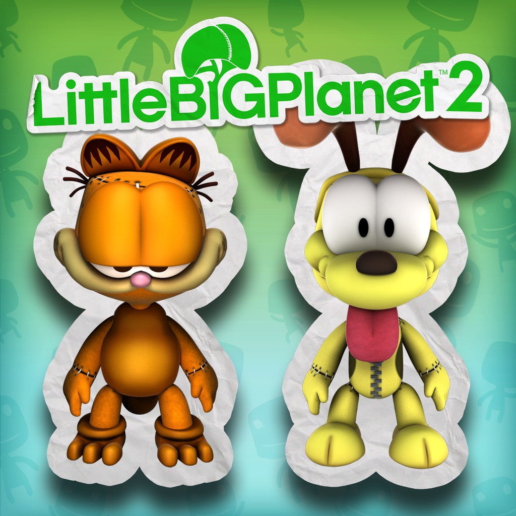 Garfield and Odie Mini Pack