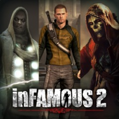 inFamous 2 Character Skin Pack