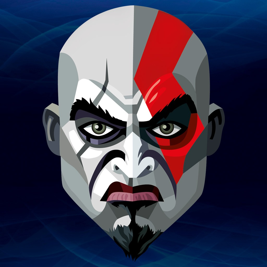PlayStation® All-Stars Kratos Avatar