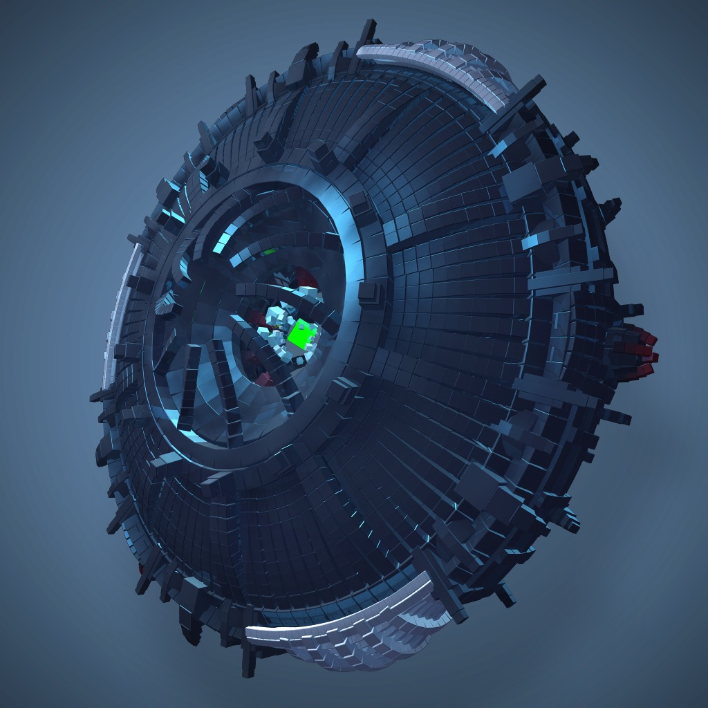 RESOGUN™ Boss Rotatron Avatar
